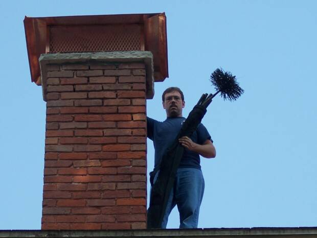 Chimney cleaning. Owensboro, Kentucky