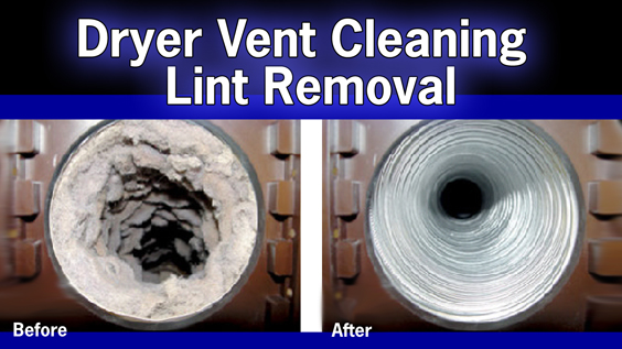 Give us a call today to service your dryer vent.